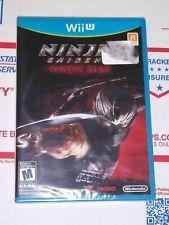 NINJA GAIDEN 3 Razor's Edge Factory SEALED Brand New NINTENDO Wii U Action