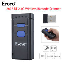 Eyoyo Mj2877 Laser Wireless Bluetooth 4.0 1d Barcode Code Scanner for iPhone