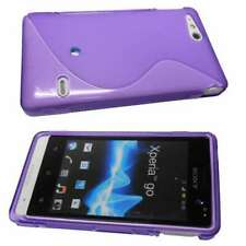 caseroxx TPU-Case for Sony Xperia Go in purple made of TPU