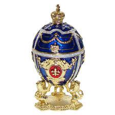 Oeuf Impérial copie Oeuf Faberge boîte à secrets ou bijoux Oeuf Impérial faberge