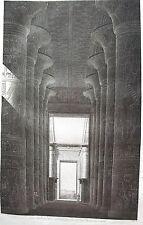THEBES KARNAK . (pl. 42, A. vol. III). Vue perspective ....   DESCRIPTION EGYPTE
