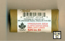 2008 Canada Olympic Lucky Loonie Roll of 25 Coins (OOAK)
