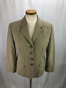 Petite Sophisticate Women's Beige Blazer 8P NWT