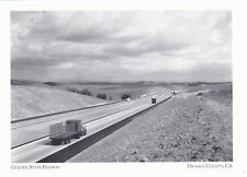 """+PCPostcard-""""The Golden State Freeway"""" -1960's-  *Orange County, CA  (#171)"""