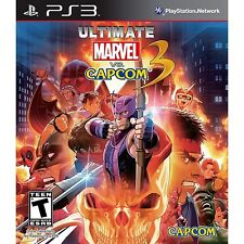 Ultimate Marvel vs. Capcom 3 [PlayStation 3 PS3, Arcade Action Fighting] NEW