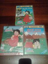 3 DVD HEIDI I FILM DELLA SERIE ORIGINALE SUI MONTI, VA IN CITTA', RITORNO SUI MO