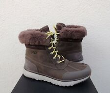 UGG ELIASSON SLATE WATER-PROOF LEATHER WINTER DUCK BOOTS, US 10.5/ EUR 44 ~NIB