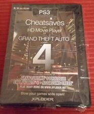 PS3 Xploder Cheat Saves for Grand Theft Auto IV 709458017997