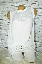 Italy Shirt Shirt Bluse Schleife weiß Gr. 36 38 40 42 blogger Boho Style Ibiza