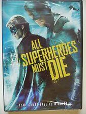 NEW/SEALED - ALL SUPERHEROES MUST DIE (DVD, 2012)
