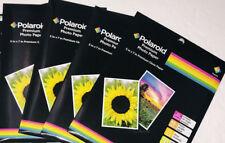 NEW Polaroid Premium Photo Paper 5x7 Gloss 4 Packs / 60 Sheets 5 x 7