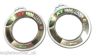 Korda XT Snag Leader - All Sizes / Carp Fishing Snag Line