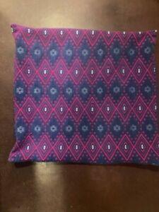 Woven Euro Shams - Purple/Pink/Blue (Anthropologie Style)