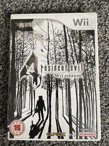 Nintendo Wii Game -  Resident Evil 4 Wii Edition  - CAPCOM - VGC - Free UK PP