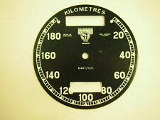 Speedometer Face Plate for Triumph AJS SMITHS NEW #15C