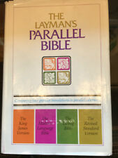 **[Parallel Bible, KJV, Mod. Language, Living, RSV,  Christian Science]**