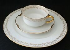 Limoges Haviland France Luncheon set, Tea Cup, Saucer, Salad Plate, 22k gold