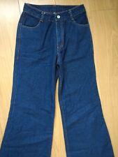 Motel Rocks Fit & Flare Rainbow Jeans - Small 32L