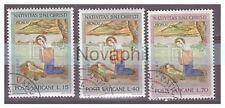 VATICANO - 1961   NATALE   SERIE  USATA