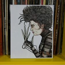 Edward Scissorhands 8x10 print signed by artist