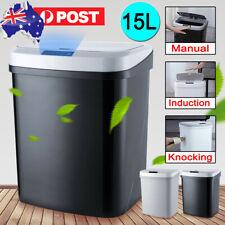 15 L Intelligent Smart Trash Can Auto Motion Sensor Kitchen Office Rubbish Bins