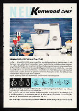3w2148/ Alte Reklame von 1960 - KENNWOOD - Küchen-Komfort - Stuttgart