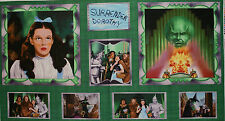 The WIZARD of OZ Dorothy and Friends Meet the GREAT OZ Pillow PANEL Fabric