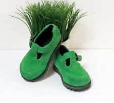 Chaussures vert pomme Babybotte Trotty pointure 20