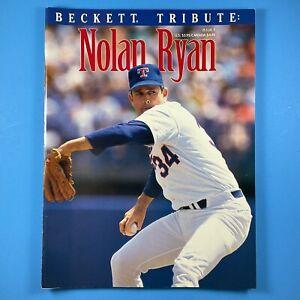 Beckett Tribute Nolan Ryan #1 Baseball Magazine 1993