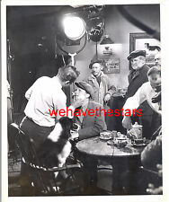 Vintage Lon McCallister HANDSOME GETS MAKE-UP '46 Behind Scenes CANDID
