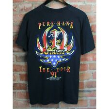 1991 Hank Williams Jr Pure Hank The Tour T-Shirt Vintage Bocephus Birthday Gift
