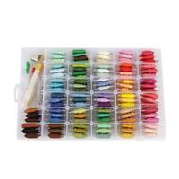 96 Color Threads DIY Sewing Magic Pen Embroidery Stitching Punch Needle Tool Kit