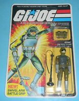 *RECARDED* 1983 GI Joe Tripwire v1 Figure Complete Sealed *CUSTOM File Card Back