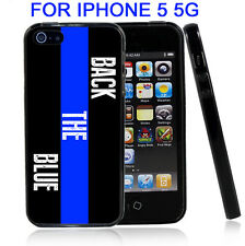 Back The Blue For Iphone5 5G Case Cover by Atomic Market