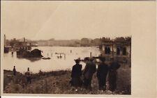 Ancient Photo-Ak, Chemnitz, Flood 1954 Rare View ===