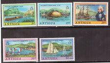 Antigua,Scott#369-373,Ships,MH