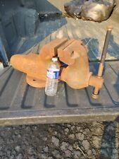 Updated Wilton 6 Bullet Vise 600 Heavy Duty Usa Original Bench Pedestal