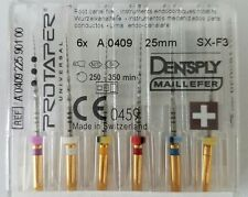 Dental Dentsply Rotary ProTaper Universal Engine NiTi Files 25 mm SX-F3