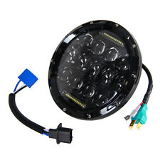 7Inch 75W 1PCS LED Headlight H4 H13 DRL HIGH LOW Beam for JEEP CJ JK TJ Wrangler