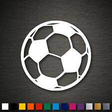 14076 Fussball Aufkleber 93x93mm Fußball WM EM Ball Sport Sticker Tuning Auto