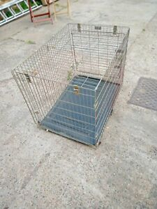 Large Folding Dog Cage Ideal for a Labrador