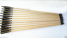 "12pcs 33"" Hunting Bamboo Arrows Eagle Feather for Archery Recurve Bow Longbow"