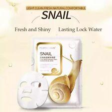 5PCS Korean Snail Essence Facial Mask, Moisture Face Mask Pack  Skin Care Lots