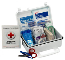 First Aid Only 10 Person Kit, Weatherproof Plastic Case