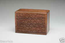 Rosewood Cremation Urn - 2nds - Bargain! - XL Size - Tree of Life