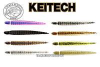 KEITECH Leech 3 inch Custom Drop Shot Finesse Worm 10pk JDM NEW COLORS - Pick