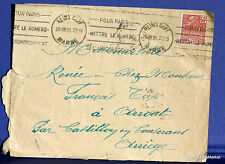 France 1930 Exposition coloniale Yvert n° 272 sur lettre fa56