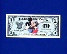 Disney Dollar $1 Series 2003 Mickey Mouse Disneyland CRISP GEM UNC