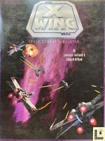 Vintage STAR WARS X Wing Space Combat Simulator Game Floppy 5 Disk IBM 1992