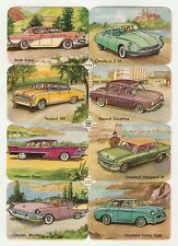PFB Germany 1950s auto stickers Buick Citroen Peugeot Renault Plymouth Chrysler
